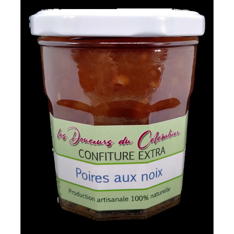 confiture de poire noix confiture artisanale pas chere