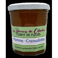 pomme cramaillotte pissenlit gelee confit artisanale pas chere