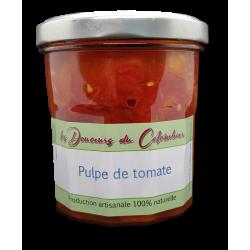 pulpe de tomates anciennes variées artisanales sans sel