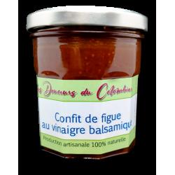 confit de figue au vinaigre balsamique artisanal