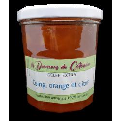 Gelée de coing orange citron de qualité artisanale