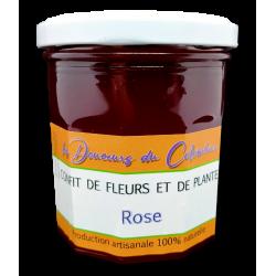 gelée de pétales de roses artisanale