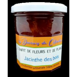gelée de fleurs de jacinthe des bois artisanale