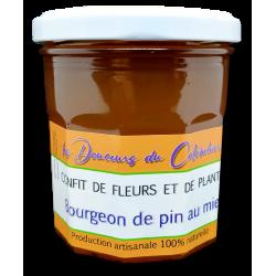 confit de bourgeon de pin au miel artisanal